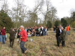 Plantation de l'arbre de promotion en 2007