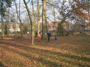 Entretien de l'arboretum par le CFPPAH en 2005