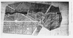Plan du domaine de Grignon vers 1795