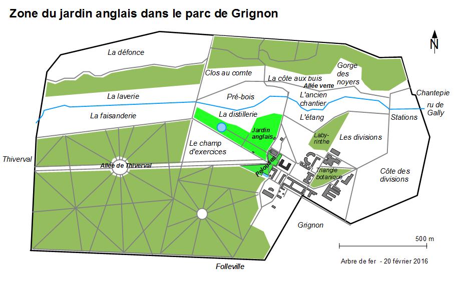 Jardin Anglais De Grignon Association De L Arbre De Fer A Grignon