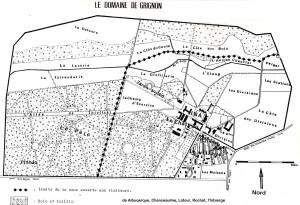 (Carte du parc en 1986)