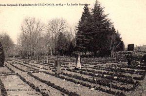(Jardin botanique au début du XXe siècle)