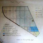 (Plan du triangle botanique vers 1908)